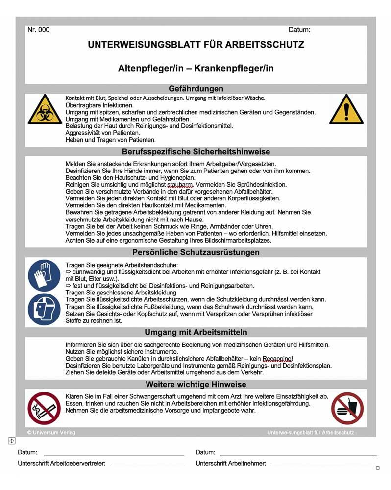 Arbeitsschutz-Center-Universum-Verlag-Unterweisung-Beispiel-2